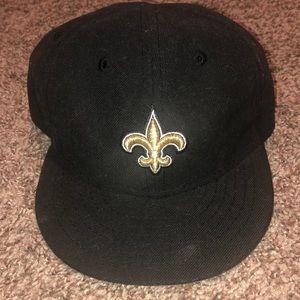 Saints infant hat